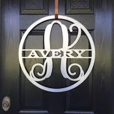 front door lettersFront Doors Letters For Front Door Metal Monogram Letters For