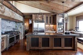 Rustic Kitchen Remodel Creative Design