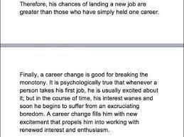 ielts gt essay should people change career at least once in life  ielts gt essay should people change career at least once in life