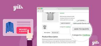 Request A Quote Amazing YITH WooCommerce Request A Quote