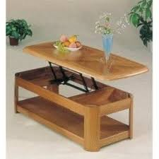 Movable coffee table