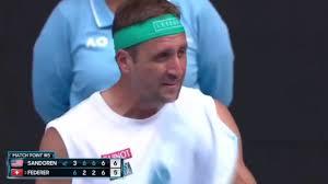 Tennis höjdpunkter | Federer vs Sandgren Full 4: e set Tiebreak