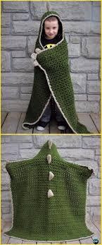 Hooded Blanket Crochet Pattern
