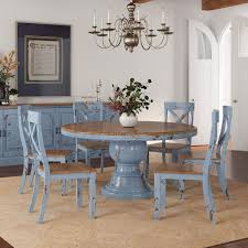 Make your table extendable with our made to order tables. Nauvoo Farmhouse Solid Wood Pedestal Round Dining Table Chair Set