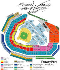 Fenway Seating Chart Pavilion Box Roger Waters Fenway Park Tickets