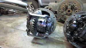 toyota tundra rear differential repair - YouTube
