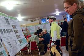 At first 20s Bikeway open house, a moment to focus on the full 9 miles –  Bicycle Insurance Portland