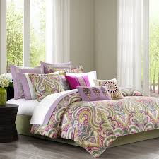 purple and green bedding for a fabulous focal point building your scheme