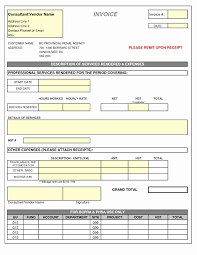 Sample Invoice For Consulting Services Invoice For Services Template Mathosproject