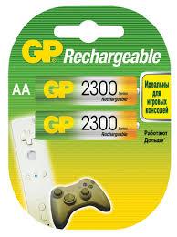 <b>Аккумулятор GP 230AAHC AA</b> NiMH 2250 мАч, 2 шт — купить в ...