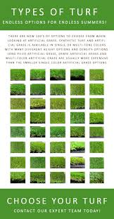 Different Types Of Artificial Grass Grass And Turf Options