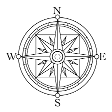 Small Picture Vintage Compass Clipart 35