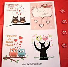 owl valentine s day cards to print. Modren Valentine Owl Valentines Day Cards Inside Valentine S To Print 0