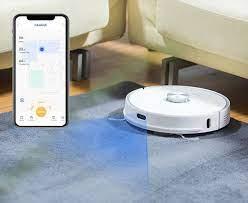 Neabot Nomo N1 Plus 2021 - Robot hút bụi thông minh với thùng rác tự làm  sạch