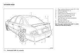 2005 sentra owner s manual 11