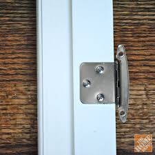 Diy glass cabinet doors Glass Inserts Attaching Hinges To Diy Glass Cabinet Doors The Home Depot Blog Diy Glass Cabinet Doors