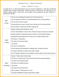 Word Travel Itinerary Template Detailed Travel Itinerary Template