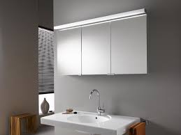 Lights Modern Lighted Bathroom Mirror Mirrored Corner Cabinet