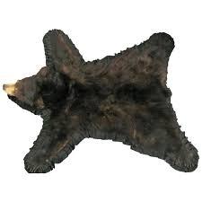 bear skin rug uk fake