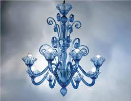 venetian chandeliers color crystal