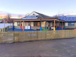 both the school and the contractor were pleased with the finished canopy and the transformation of the outdoor space the children can now play outside all