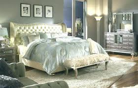 Mirrored Headboard Bedroom Set Mirrored Headboard Bedroom Set ...