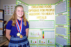 Allergic To Heavy Metals Students Science Fair Project
