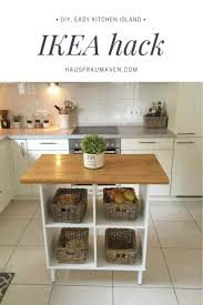 diy kitchen island. 19. Customize Flat-Pack Furniture To Suit Your Needs Diy Kitchen Island 2