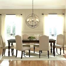 image of modern dining room lighting