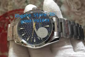 luminous dial mens watches online luminous dial mens watches for top factory n8 men automatic 8507 blue dial james bond watch mens luminous professional 007 watches men s sports dive gauss wristwatches