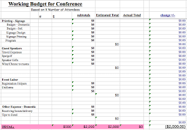 expenses breakdown template we found all the best event budget templates guidebook
