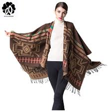 <b>REALSISHOW Newest 2019</b> cashmere scarf women winter ponchos ...