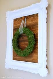 make a wood slat sign for hanging seasonal wreaths a fun and easy diy decor
