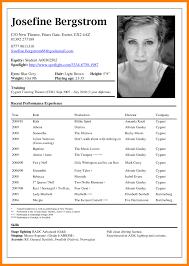 Acting Resume Template Download Elegant Theatre Resume Template Child Acting Unique Actor Of