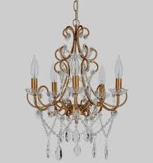 chandelier tea light holder theresa vintage gold crystal chandelier 5 light swag plug in glass pendant wrought iron ceiling lighting fixture lamp