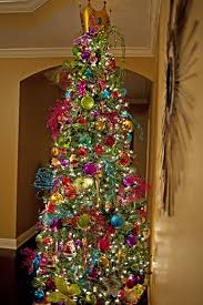 Terrific Colorful Christmas Tree Decorating Ideas 61 With Additional  Minimalist with Colorful Christmas Tree Decorating Ideas