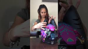 This is kayla marrero of pinkstroke opening the cat ear upgrade and installing them on her scorpion motorcycle helmet. Cat Ear Upgrade Helmet Accessory Unboxing Youtube