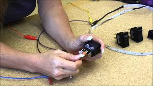 on off on rocker switch for automotive use with wiring s