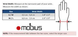 Mobius X8 Size Chart Mobius X8 Wrist Brace Shop Now