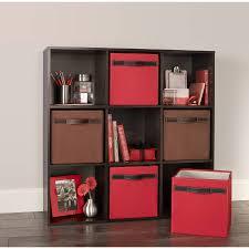 closetmaid cubeicals 9 cube living room shelf furniture organizer espresso new
