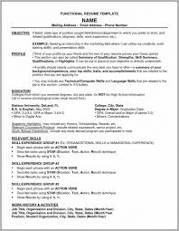 Free Resume Templates For Highschool Students With No Experience