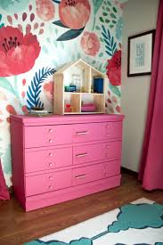 pink painted furniture. Pink Painted Dresser With Gold Hardware Pink Painted Furniture N
