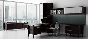 contemporary dark wood office desk. Unique Desk Retro Modern Contemporary Wood Desk On Dark Office D
