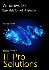 Amazon Com Windows 10 Essentials For Administration It