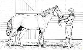 Spirit Horse Coloring Pages Printable Horses Jumping For Adults To