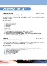 Sample Australian Resume Format Free Resume Example And Writing
