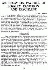 essay patriotic essay