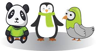 pandas penguins and pigeons oh my