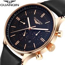 popular top designer watches for men buy cheap top designer watches men luxury top brand guanqin new fashion men s big dial designer quartz watch male wristwatch