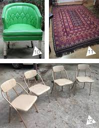raleigh kilim green chair and folding chairs